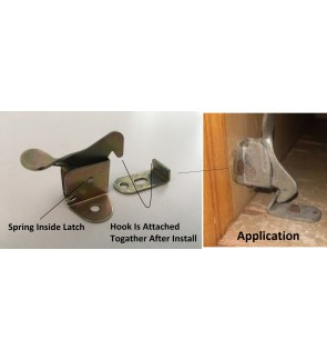 DIY Spring Type Cabinet Latch Elbow Catches For Cupboard