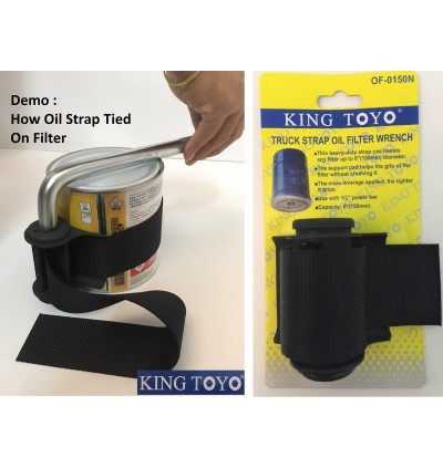 Automotive Car /Truck/Lorry Strap Oil Filter Wrench