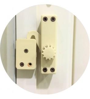 PVC Door Lock Handle For Foldable Folding Door