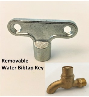 Removable Water Tap Key For Wallbibtap
