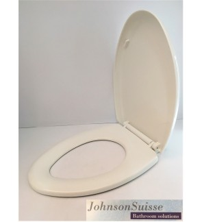 Johnson Suisse Soft Close Micca Heavy Duty Toilet Seat Cover
