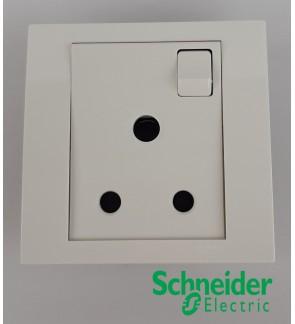 Schneider Vivace High Power 15A One Gang Switch Socket