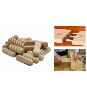 Wood Joint Dowel For Joining Wood And Furniture Support