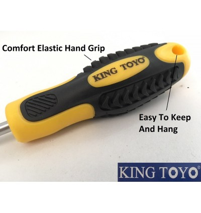 King Toyo 7pcs Professional Screwdriver Set