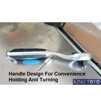 King Toyo Super Heavy Duty Professional Ratchet Socket Wrench 1/2Inch