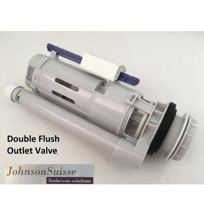 Johnson Suisse Dual Push Button Outlet Valve