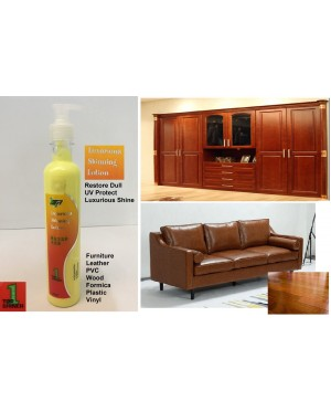 Dull Restoration And Shinning Lotion For Furniture , Wood , Plastic , Leather , Vinyl,