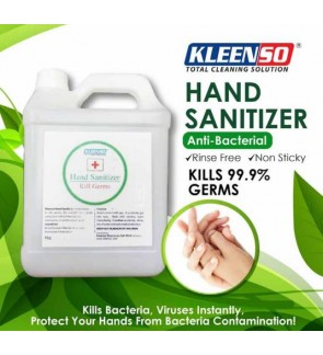 4kg/4Litre Hand Sanitizer With Anti Bacterial To Kill Germs ,Viruses , Coronoviruses.