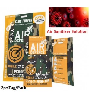 Air Sanitizer Defence For Coronovirus , Bacteria , Virus And Odor