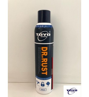 Toyo Dr.Rust 300ml Rust Loosening &Penetrating Oil.