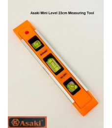 Asaki Mini Level Measuring Tool 23cm