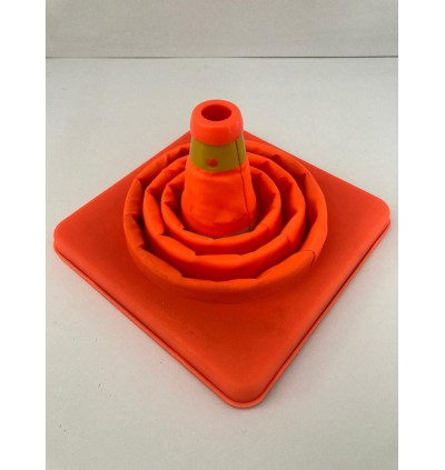 Retractable Foldable And Flexible Traffic Safety Cone Road