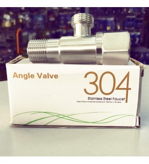 Stainless Steel Bathroom Angle Valve SS304