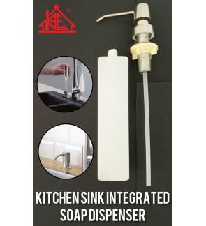 Kitchen Sink Integrated Soap Dispenser