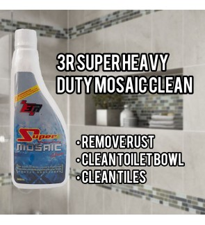 Super Heavy Duty Mosaic Clean For Bathroom Tiles Rust