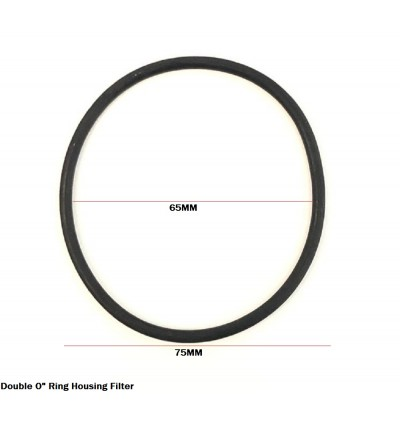 Expandable 65MM Diameter O-Ring Rubber For Housing Water Filter To Prevent Water Leaking