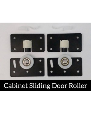 2 Sets Cabinet Sliding Door Roller For Furniture Cupboard , Cabinet