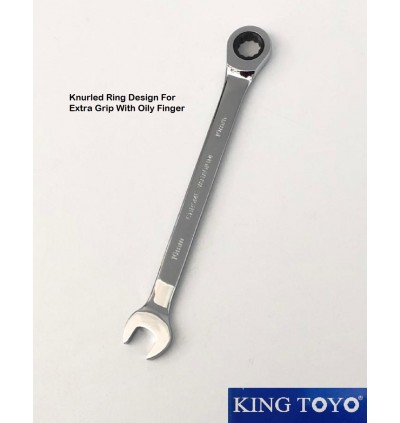 King Toyo Combination Ratchet Wrench Spannar For Automotive Sector