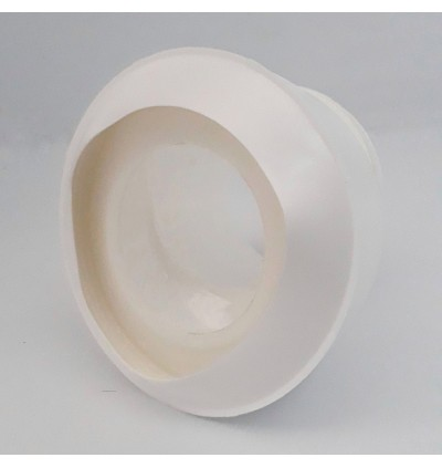 4Inch x 1Inch Offset WC Pan Toilet Bowl Offset Straight Connector  (100mm) For Bathroom Accessories
