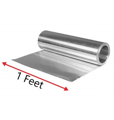 Anti-rust Flat Zinc Sheets 1 feet x 8 feet For Kitchen , Outdoor Garden, Roof And Household Usage