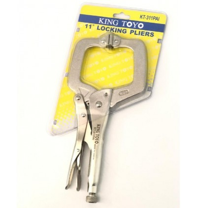 King Toyo C-Clamp Locking Pliers For Industrial And Automotive Usage