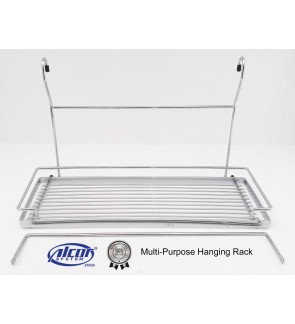 Alcor Spain Stainless Steel Multi-Purpose Hanging Rack For Kitchen