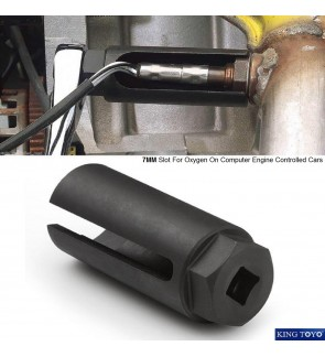 "King Toyo 1/2""DR. Oxygen Sensor Socket - 22mm"