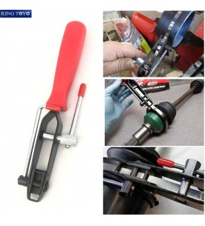 King Toyo Heavy Duty C.V Joint Banding Tools With Cutter For Automotive Industrial Usage