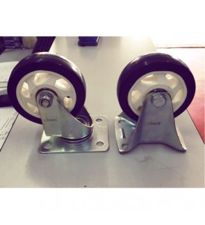 4 INCH Rigid PU Wheel (Swivel and Non-Swivel)