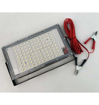 Strong Durable 44W LED Flood Light DC 12V Battery For Outdoor Event, Night Market