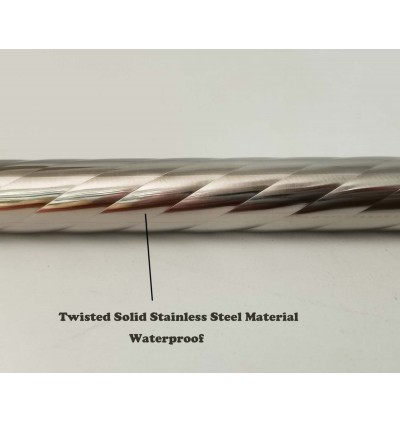 Durable Long And Solid Twisted Stainless Steel Mop Stick Replacement For Housing