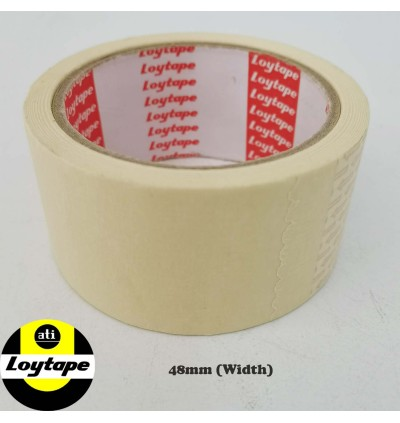 Loytape Heat Resistance Masking Tape With Excellent Holding Strength For Spray Painting Applications