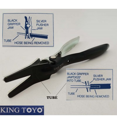 King Toyo Heavy Duty Hose Remover Pliers For Automotive And Mechanical
