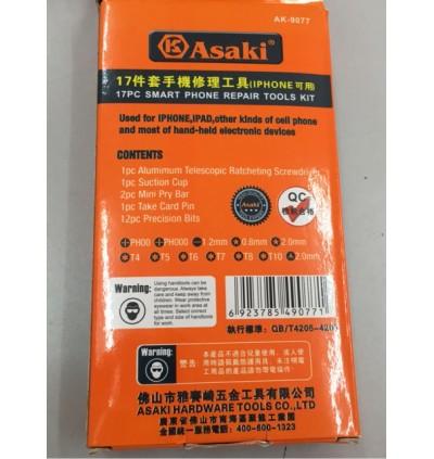 Asaki iPhone Telecommunication Repair Tool Set