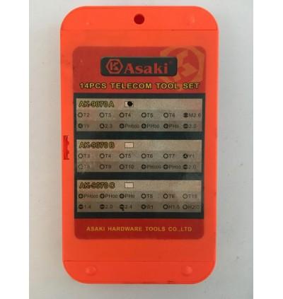 Asaki Telecommunication Tools Set
