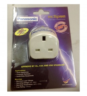 Panasonic Lighting Surge Protector Adaptor For TV Computer Router