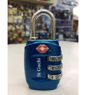 St Guchi 3 Digit TSA Travel /Luggage Lock