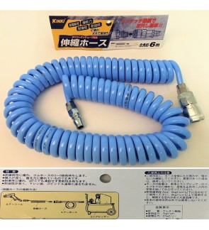 Japan Kinki Flexible Coil Hose For Pneumatic Air