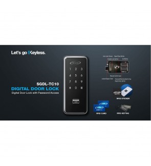 St Guchi Digital Lock TC10