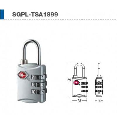 St Guchi 3 Digit TSA Travel /Luggage Lock TSA1899