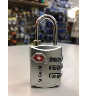 St Guchi 3 Digit TSA Travel /Luggage Lock TSA1899