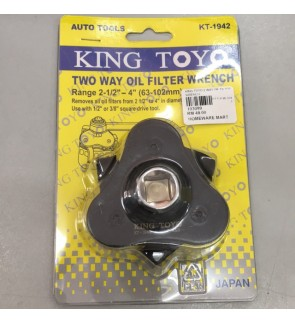 King Toyo Two Way Oil Filter Wrench