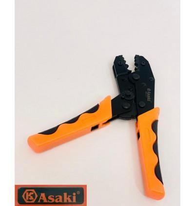 Asaki Ratchet Crimping Pliers