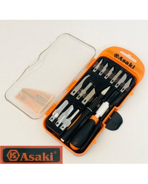Asaki Handcraft Knife 14pcs