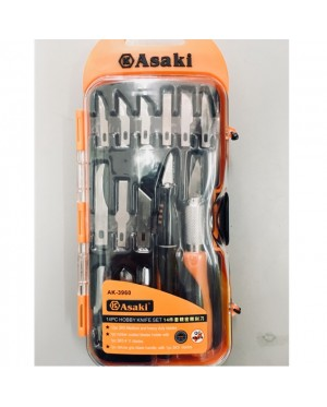 Asaki Handcraft Knife 14pcs