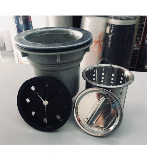21/2inch Stainless Steel Waste Sink