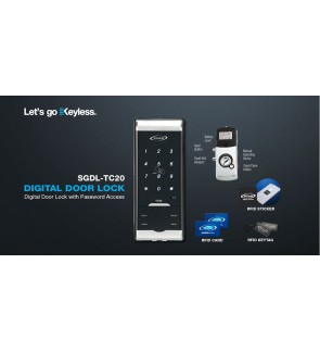 St Guchi Digital Lock TC-20