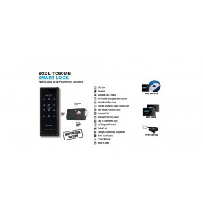 St Guchi Digital Lock TC60MB