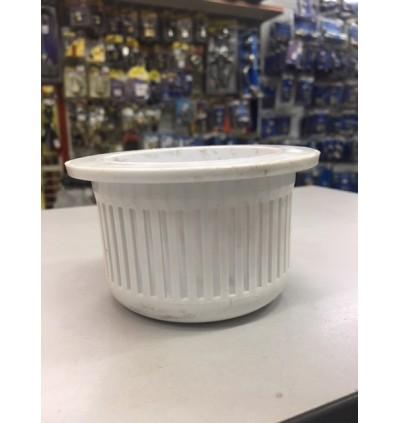 """Toilet Floor Grating Basket (6"""" x 6"""" ) For Debris Filteration"""