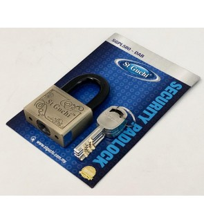 StGuchi SGPL580 Anti Cut Security Padlock With Alloy Steel Shackle